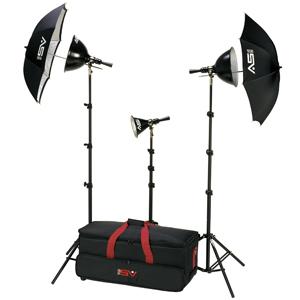 Smith Victor 401460 Photoflood K82 2-Light 500-Watt Ultra Cool Portable Kit
