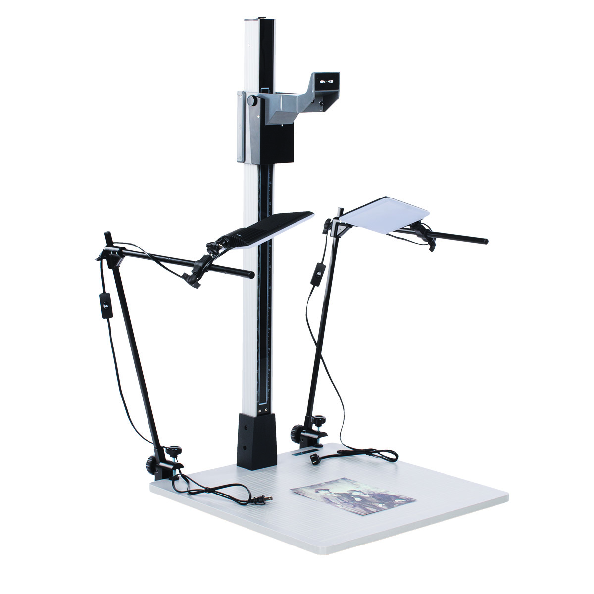 Cs42k 42 Pro Duty Copy Stand With Led Light Kit