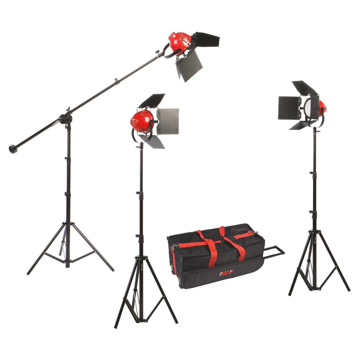 ladybug 1500 soft led 3 light kit1500 watt 3 point lighting kit with